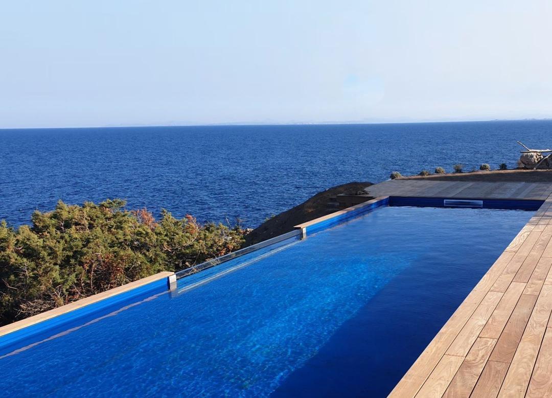 piscine auto-portante bassin acier