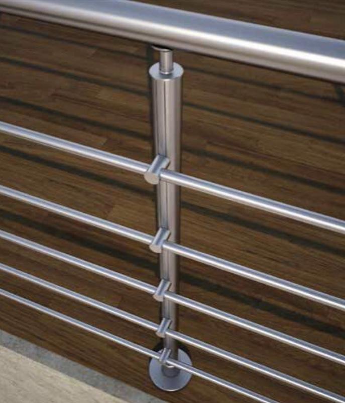 barriere inox piscine auto-portante bassin acier